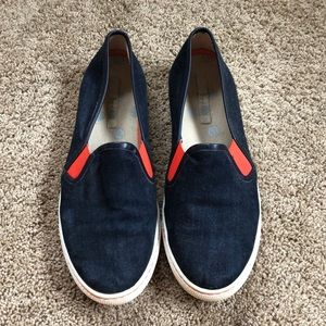 Boden Slip On Canvas Sneakers, size US 9 (UK 40)